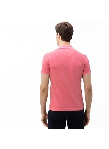 Lacoste Erkek Slim Fit Tişört PH0037.Y14 Pembe